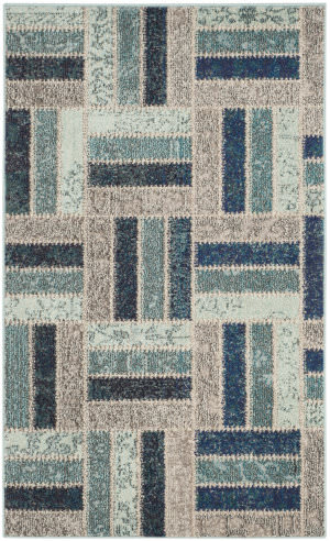 Safavieh Monaco Mnc214e Grey - Blue Area Rug