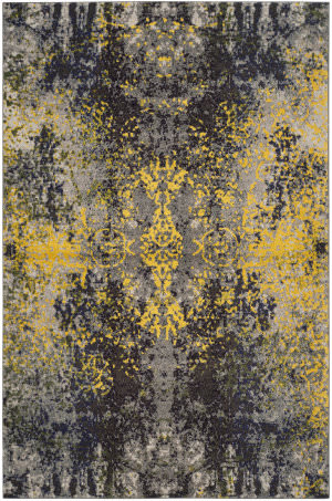 Safavieh Monaco Mnc223g Grey - Multi Area Rug
