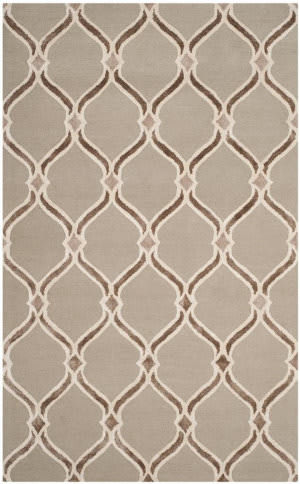 Safavieh Manchester Mnh540b Taupe - Ivory Area Rug