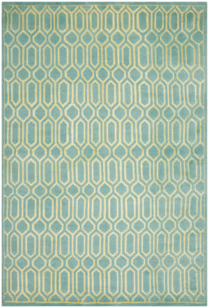 Safavieh Mosaic Mos150a Aqua / Light Gold Area Rug
