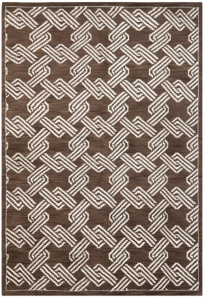 Safavieh Mosaic Mos156a Brown / Creme Area Rug