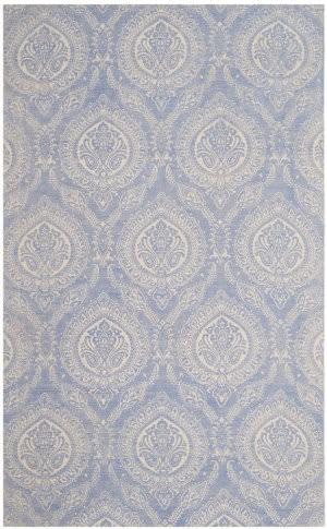 Safavieh Marbella Mrb405m Blue - Ivory Area Rug