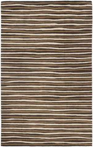 Martha Stewart By Safavieh Msr3619 Hand Drawn Stripe B Area Rug