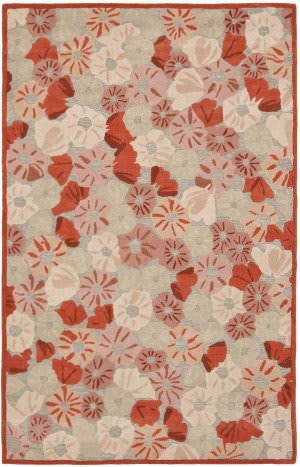 Martha Stewart By Safavieh Msr3625 Poppy Field B Area Rug