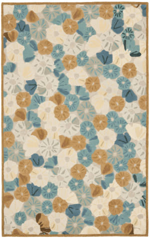 Martha Stewart By Safavieh Msr3625 Poppy Field C Area Rug