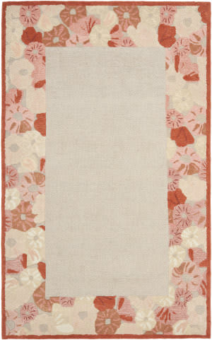 Martha Stewart By Safavieh Msr3629 Poppy Border C Area Rug