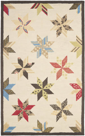 Martha Stewart By Safavieh Msr3751 Lemoyne Star B Area Rug