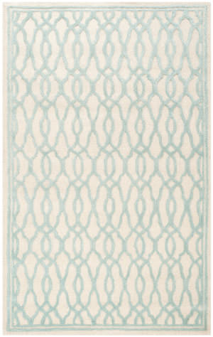 Safavieh Martha Stewart Msr3822b Ivory - Blue Area Rug