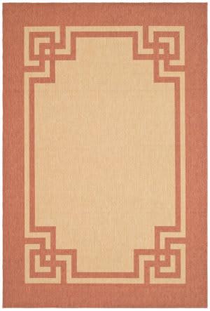 Safavieh Martha Stewart Msr4122j Beige - Terracotta Area Rug