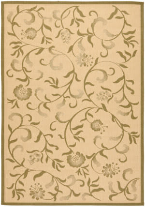 Safavieh Martha Stewart Msr4251 Cream - Green Area Rug