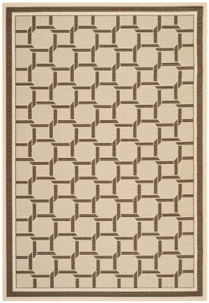 Safavieh Martha Stewart Msr4258 Cream - Chocolate Area Rug