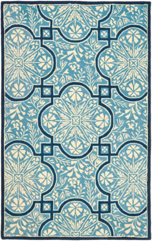 Safavieh Martha Stewart Msr4551b Kerry Blue Area Rug