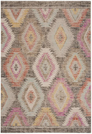 Safavieh Montage Mtg212f Grey - Multi Area Rug