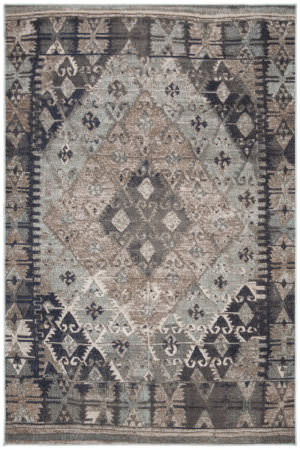 Safavieh Montage Mtg236k Blue - Grey Area Rug
