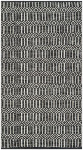 Safavieh Montauk Mtk412a Ivory - Dark Grey Area Rug
