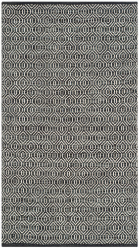 Safavieh Montauk Mtk413a Ivory - Dark Grey Area Rug