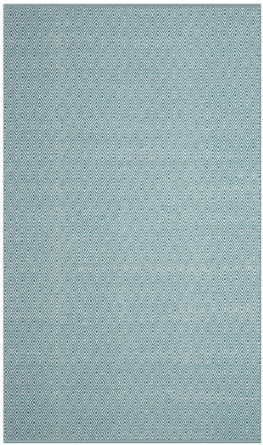 Safavieh Montauk Mtk515b Ivory - Turquoise Area Rug