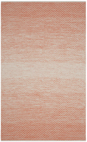 Safavieh Montauk Mtk601d Orange - Ivory Area Rug
