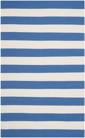 Safavieh Montauk Mtk712c Blue / White Area Rug