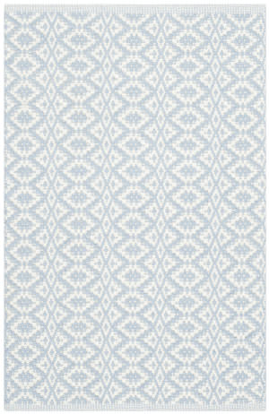 Safavieh Montauk Mtk716b Ivory - Light Blue Area Rug