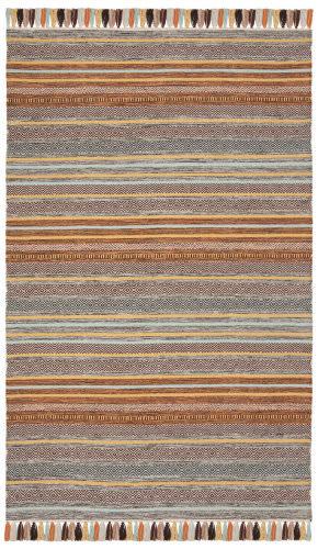 Safavieh Montauk Mtk901e Turquoise - Brown Area Rug