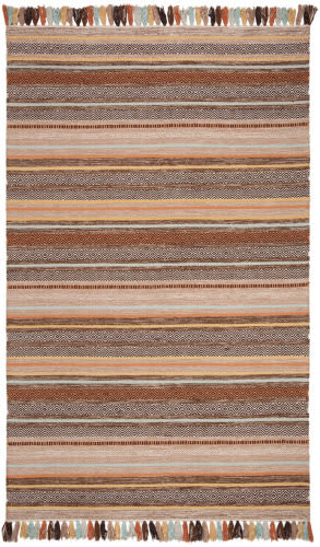 Safavieh Montauk Mtk901h Brown - Multi Area Rug