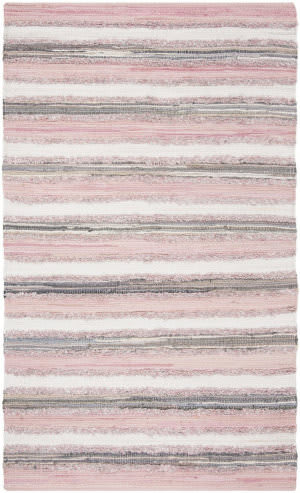 Safavieh Montauk Mtk951d Pink - Multi Area Rug