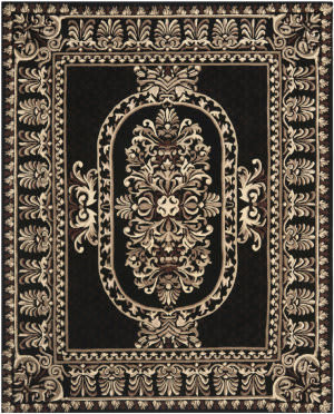 Safavieh Naples Na851a Black Area Rug
