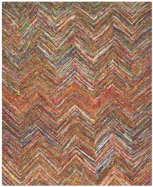 Safavieh Nantucket NAN141B Blue / Multi Area Rug