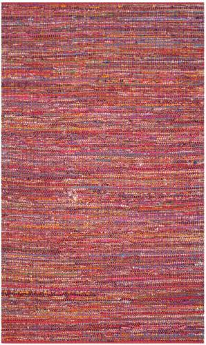 Safavieh Nantucket Nan220c Red Area Rug