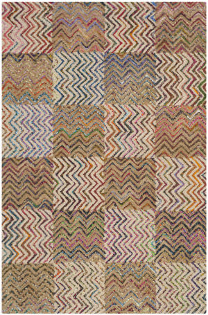 Safavieh Nantucket Nan602a Beige - Brown Area Rug