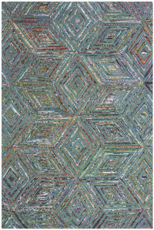 Safavieh Nantucket Nan607a Blue Area Rug