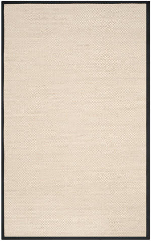 Safavieh Natural Fiber Nf143a Marble - Black Area Rug