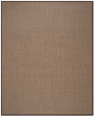 Safavieh Natural Fiber Nf441c Brown Area Rug