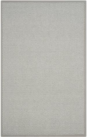 Safavieh Natural Fiber Nf463b Silver - Grey Area Rug
