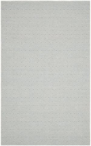 Safavieh Oasis Oas525a Silver - Ivory Area Rug