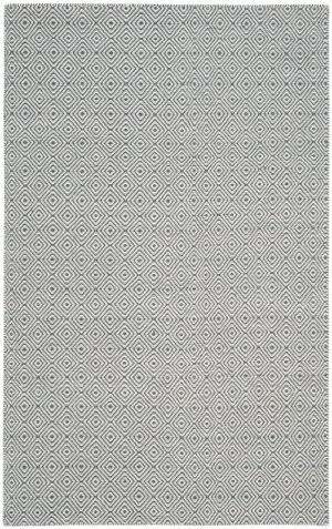 Safavieh Oasis Oas525c Dark Grey - Ivory Area Rug
