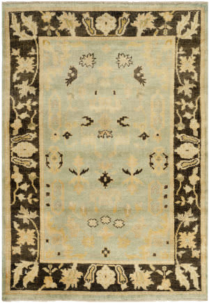 Safavieh Oushak OSH112B Light Blue / Brown Area Rug
