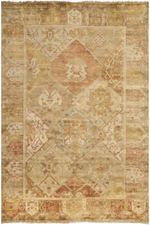 Safavieh Oushak OSH561A Gold / Brown Area Rug