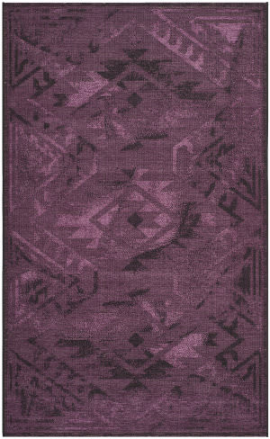 Safavieh Palazzo PAL122-56C7 Black / Purple Area Rug