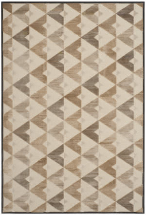 Safavieh Paradise Par132-3340 Soft Anthracite - Cream Area Rug