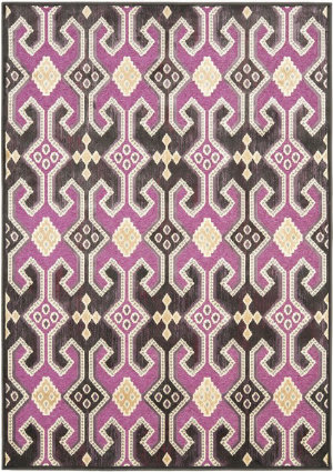 Safavieh Paradise Par152-380 Fuchsia - Purple Area Rug