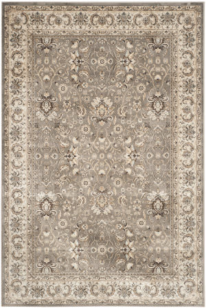 Safavieh Persian Garden Peg607g Grey - Ivory Area Rug