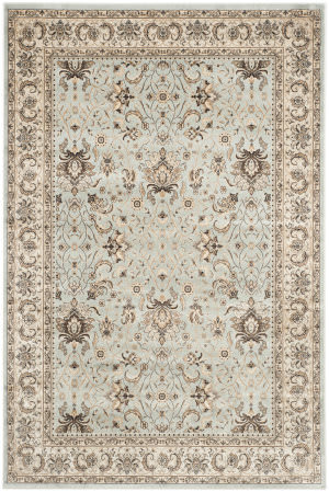 Safavieh Persian Garden Peg607l Light Blue - Ivory Area Rug