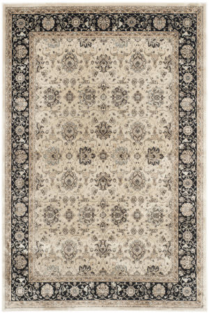 Safavieh Persian Garden Peg608d Ivory - Black Area Rug