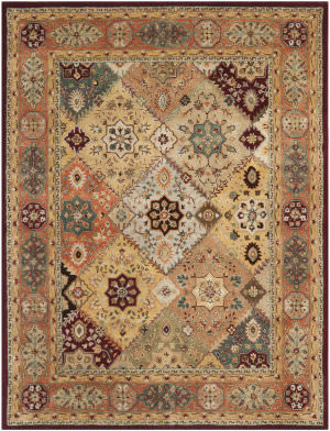 Safavieh Persian Legend Pl812a Red / Rust Area Rug