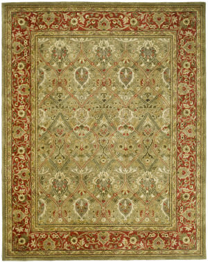 Safavieh Persian Legend PL819B Light Green / Rust Area Rug
