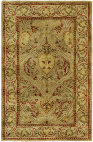 Safavieh Persian Legend Pl819g Moss / Beige Area Rug