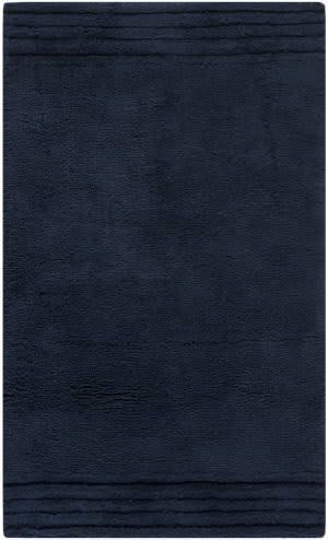 Safavieh Plush Master Bath PMB621B Navy / Navy Area Rug