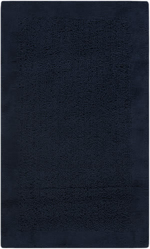 Safavieh Plush Master Bath PMB623B Navy / Navy Area Rug